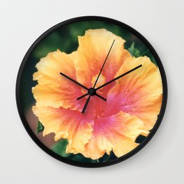Brightly Blooming Wall Clock
