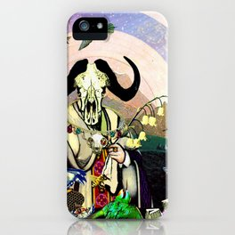 Bull Worship iPhone Case