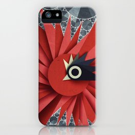 Origami Chick iPhone Case