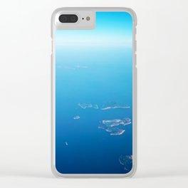 PHOTOGRAPHY / SKY & OCEAN 02 Clear iPhone Case