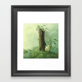 Plant Folk Framed Art Print