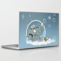 bath Laptop & iPad Skins featuring Bath by Glenn Melenhorst
