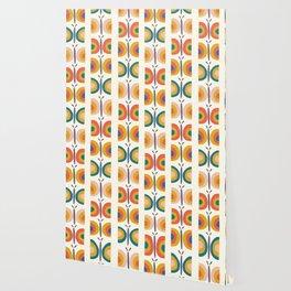 Retro Butterflies Wallpaper