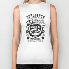 conqueror speedway street lifestyle Biker Tank