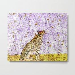 African Leopard - Spot Me Metal Print