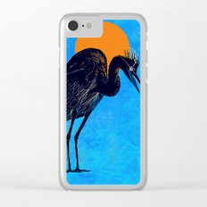 Heron Clear iPhone Case