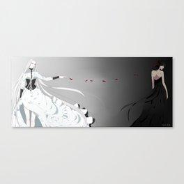 Apart  Canvas Print