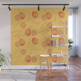 orange juice _ light Wall Mural
