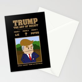 Trump - The Art of Deceit Stationery Cards