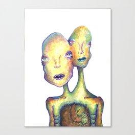 Two Headed Boy Canvas Print