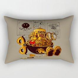 Work of the genius Rectangular Pillow