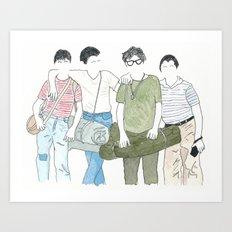 Still Standing Art Print