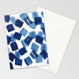 Indigo Brush Strokes | No.1 Stationery Cards