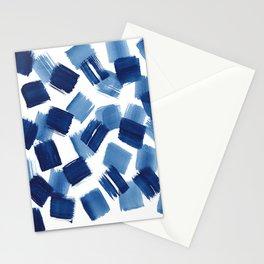Indigo Brush Strokes | No.1 Stationery Cards