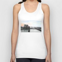 industrial Tank Tops featuring Industrial I. by zenitt