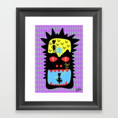 Everyday I wisthle thanks to the wisthle pixies Framed Art Print