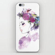 Like a bird iPhone & iPod Skin
