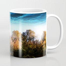 Michigan Above Coffee Mug