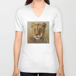 Concentration Unisex V-Neck