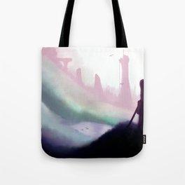 Broken Land Tote Bag