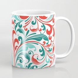 Abstract Floral 32 Coffee Mug