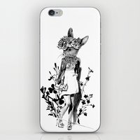 moose iPhone & iPod Skins featuring MOOSE by TOO MANY GRAPHIX