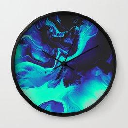 RAMONA FLOWERS Wall Clock