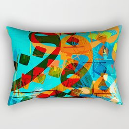 arabic lins Rectangular Pillow