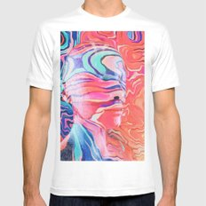 Lucid Dream MEDIUM White Mens Fitted Tee