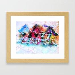 A Home For All Seasons Framed Art Print