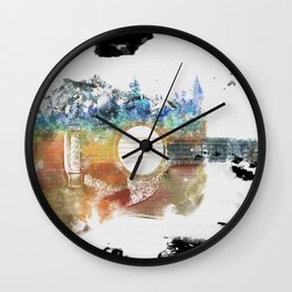 Grow Your Music Wall Clock
