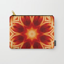 Fire Lotus Mandala Carry-All Pouch