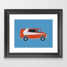 Gran Van Torino Framed Art Print