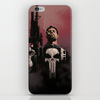 punisher iPhone & iPod Skins featuring Punisher by Dave Seguin