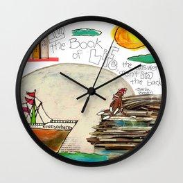 Book of Life Wall Clock