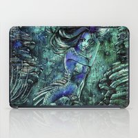 siren iPad Cases featuring Siren by Nemeth Alina