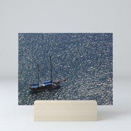Santorini, Greece 11 Mini Art Print