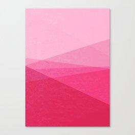 Stripe XI Cotton Candy Canvas Print