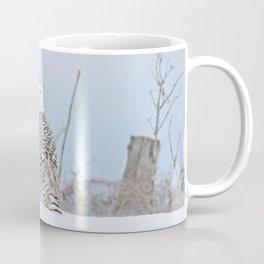Adrift amid the drifts Coffee Mug