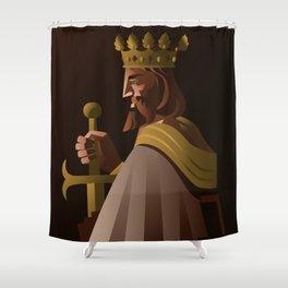 king european crusader Shower Curtain