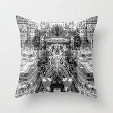 oversensor nature Throw Pillow