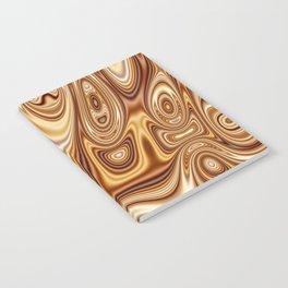 Fordite Caramel Nafta 25 Notebook