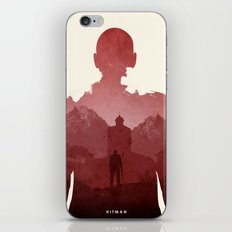 Hitman iPhone & iPod Skin