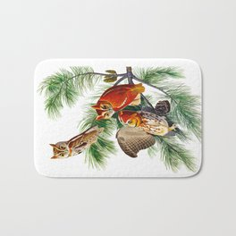 Little Screech Owl Bath Mat