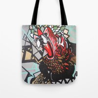 indie Tote Bags featuring Indie Suarez by ClaireBerry