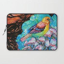 birds and mushrooms Laptop Sleeve