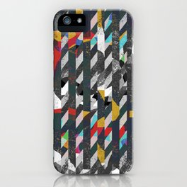 Colorful noise iPhone Case