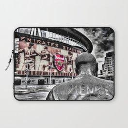 Thierry Henry Statue Emirates Stadium Art Laptop Sleeve