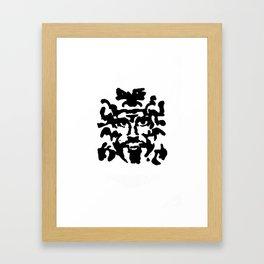blots Framed Art Print
