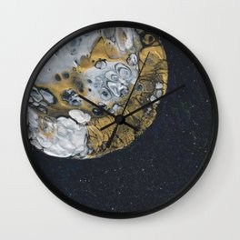 Moon Pour Wall Clock